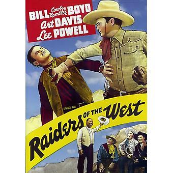 Raiders West (1942) [DVD] USA tuonti