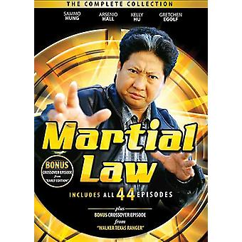 Martial Law : Complete Collection [DVD] USA import
