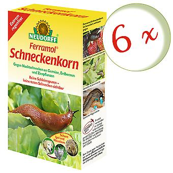 Sparset: 6 x NEWDORFF Ferramol® snigelkorn, 200 g