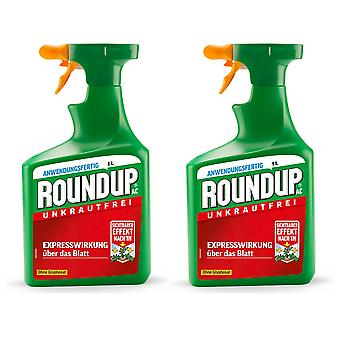Sparset: 2 x ROUNDUP® AC, 1 litre