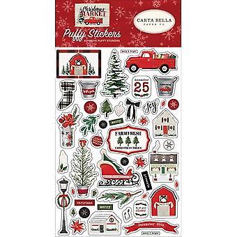 كارتا بيلا عيد الميلاد سوق ملصقات منتفخ