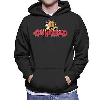 Garfield Smile Classic-logotyp män ' s Huvtröja