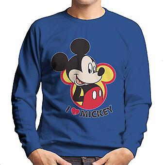Disney jag älskar Musse Pigg män ' s tröja