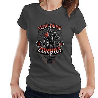 Resident Evil Flesh Eating Zombies Women's T-Shirt