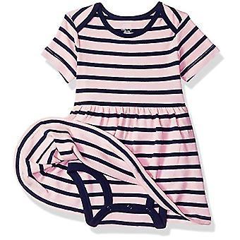 Essentials Baby 3-Pack Vestido, Corazón de Niña, 18M
