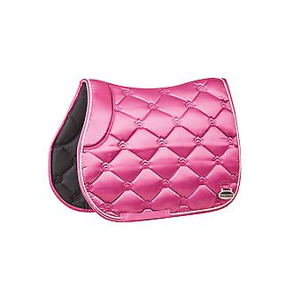 Weatherbeeta Regal Luxe Full Size All Purpose Saddle Pad - Rose Queen