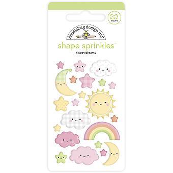 Doodlebug Design Sweet Dreams Shape Sprinkles (22pcs) (6756)