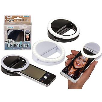 Selfie Ring LED Lamp/Flash For iPhone/Android ASST