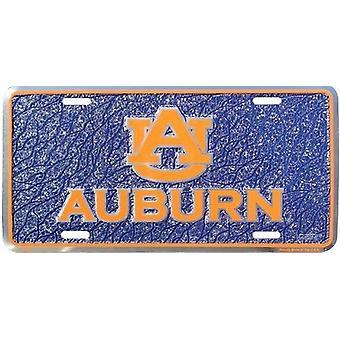 Auburn Tigers NCAA Mosaic registreringsskylt