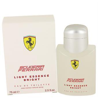 Ferrari luz esencia brillante Eau de Toilette spray (unisex) por Ferrari