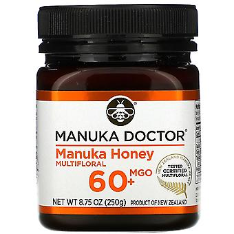Manuka Doctor, Manuka Honey Multifloral, MGO 60+, 8,75 oz (250 g)