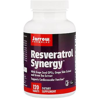 Jarrow Formulas, Resveratrol Synergy, 120 Tablets