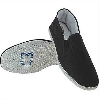 Blitz sport katoen zool Kung Fu schoenen-zwart