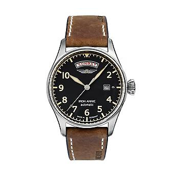 Iron Annie 5164-2 Flight Control Black Dial Automatic Wristwatch