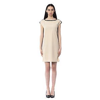 Byblos Avorio Dress BY994746-IT40-XS