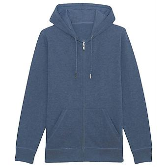 Britse Boxers Zip-Up Hoodie - Dark Heather Blauw