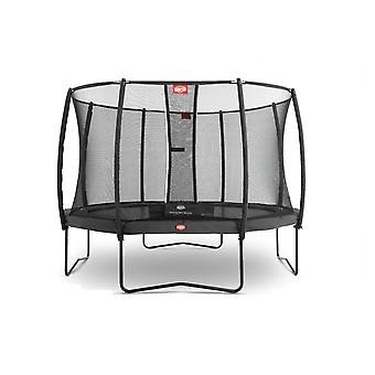 BERG Champion Regular 330 11ft Trampoline Grey With Safety Net Deluxe