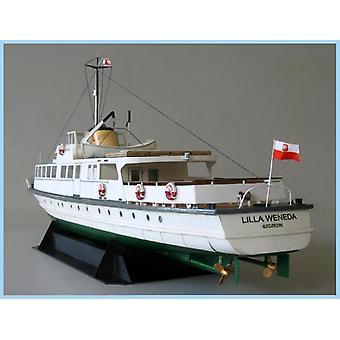 Traghetto da 40 cm Fine carta 3d - Modello di carta, set di costruzione giocattolo