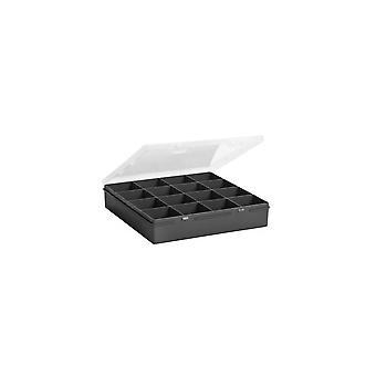 Wham Storage 23.5cm (9.01) Caja Organizadora con 16 Compartimentos Cuadrados