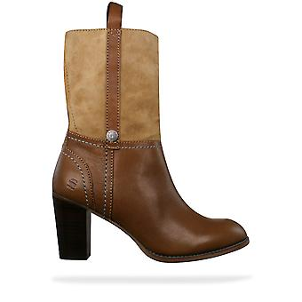 G-Star Raw Beauvoir Goncourt Womens Leather Boots - Tan