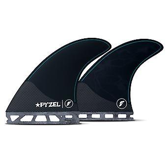 Futures pyzel moyen 5-fin planche de surf ensemble