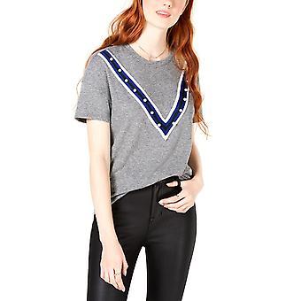 Carbon Copy | Embellished T-Shirt