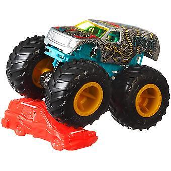 Hot Wheels Monster Jam 1:64 FYJ44 Kids Toy (willekeurig geselecteerd)