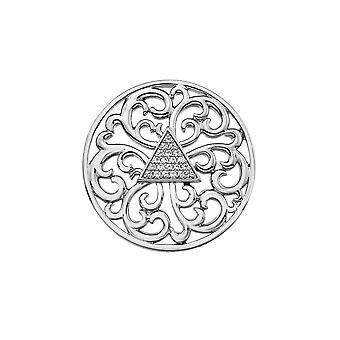 Emozioni sølvbelagt cleopatra 33mm mynt EC467