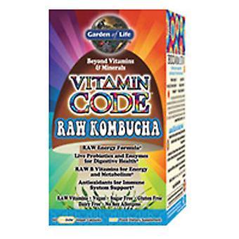 Garden of Life Vitamin Code, Raw Kombucha 60 Caps
