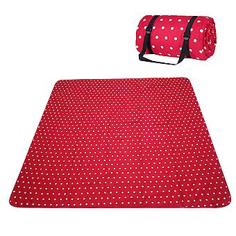 Homemiyn Thickened Waterproof Blanket Polyester Cotton Cloth Ultrasonic Outdoor Picnic Mat