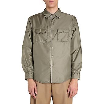 Aspesi I029796196260 Men's Green Nylon Shirt
