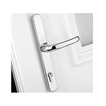 Yale Locks Retro Porte Handle PVCu Poli Chrome Finition YALPPVCRHPC