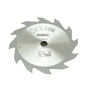 Black & Decker Circular Saw Blade 160 x 16mm x 12T Fast Rip B/DX13100