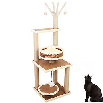 Multilevel Cat Tree Zgarieturi Post Kitten Alpinism Tower Centrul de activitate