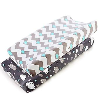 Baby Nappy Changing Pad, Soft Jersey Fabric Waterproof Mattress Bed Sheet