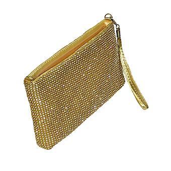 Bolso clutch Diamante Sparkle para mujer con cadena acoplable