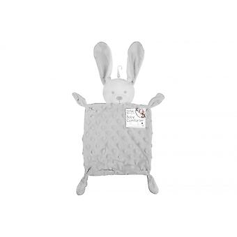 First Steps Grey Rabbit Comforter