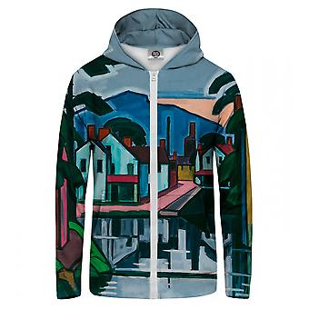 M. GUGU & Miss GO Old Canal Port Zip Up Hoodie
