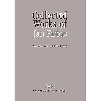 Collected Works of Jan Firbas Volume One 1951 1967