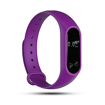 Aquarius AQ112 Fitness Tracker With Heart Rate Monitor, Purple