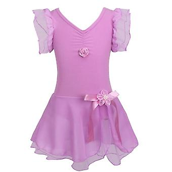 Kids Tutu Ballet Dance Dress Leotard Fancy Costume