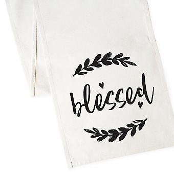 Blessed-cotton Canvas Table Runner