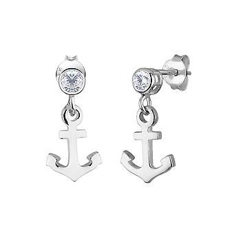 Elli Frauen's 925 Sterling Silber Xilion geschnitten Ohrringe