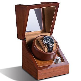 Hoge kwaliteit 1+0 single houten automatische mechanische horloge winder box