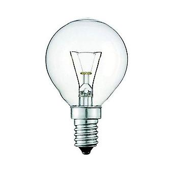 Light Bulb E14S 40W Clear Fancy Round Ses Lamp Small Oven Rangehood