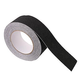 39.37x1.97Inch Abrasive Schwarz Starke Griff Klebstoff Sicherheit Anti-Rutsch-Band