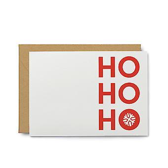 Ho Ho Ho Note Card