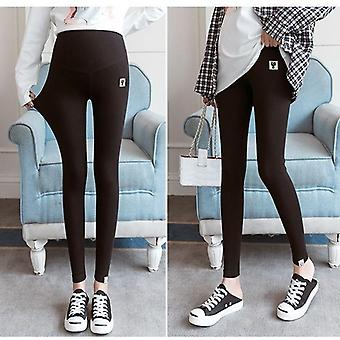 Spring Summer Cotton Adjustable Waist Pregnant Women Leggings