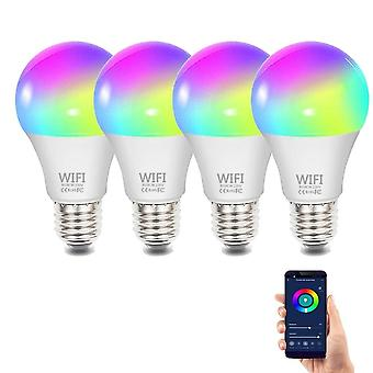 Wifi Smart Dimmable Rgb  Light Bulb