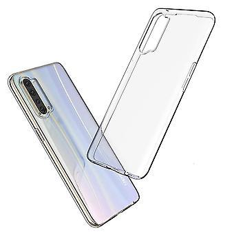 Coque Pour Oppo Find X2 Lite, Housse De Protection En Silicone De Haute Qualité, Transparent
